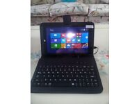 Brand New 8'' Quadcore 32Gb Windows 8.1 (Upgradable to 10) Tablet with Case & Keyboard