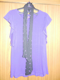 M&S Limited Collection Girl's Top with Scarf