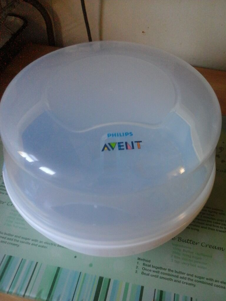 Good as new Avent Microwave Steriliser