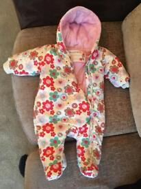 Winter body suit 3-6 months girl