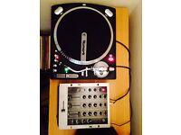 Numark TT500 Direct Drive DJ Turntable / Numark M4 Mixer - Excellent Condition