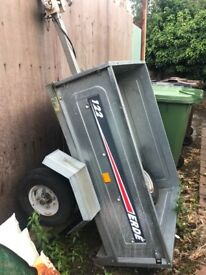 Erde 122 trailer , good condition