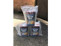 Thompson's one coat water seal 5 litres x 3