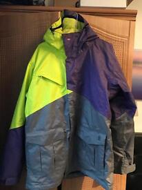 Quicksilver Travis Rice snowboard jacket Size M