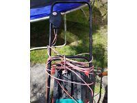 Bosch lawn mower rotak 340 ER with broken handle