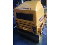 vibrating TV900 twin drum roller ( scarce) only 540 hours serviced every 3 months, direct from coun