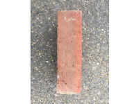 Reclaimed Ibstock bricks 215 x 102 x 65 ( L x W x H mm) approx 500