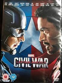 Marvel DVDs