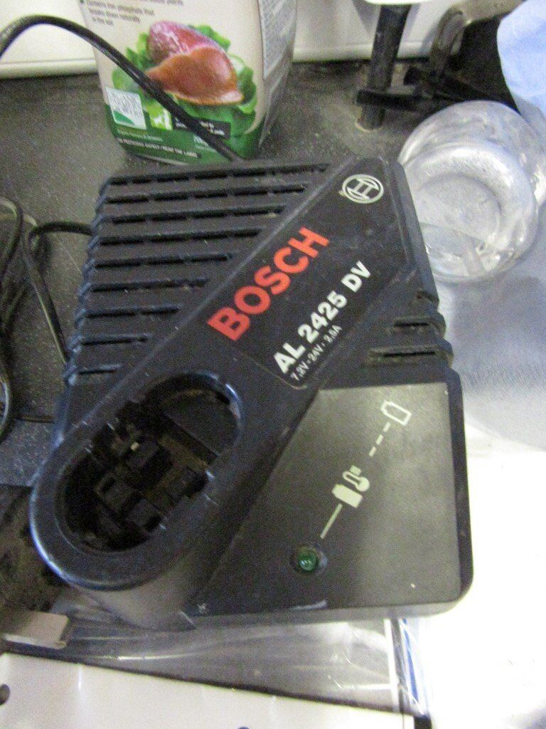 bosch 2425 battery chargerin Polmont, FalkirkGumtree - bosch 2425 battery charger , charges bosch 7.2v to 24v batteries , in good condition