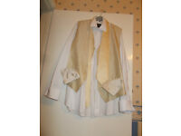 Wedding shirt, waistcoat and matching accessories