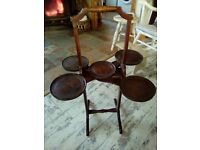 VINTAGE SANDWICH/CAKE STAND BEAUTIFUL ANTIQUE ITEM IN EXCELLENT CONDITION