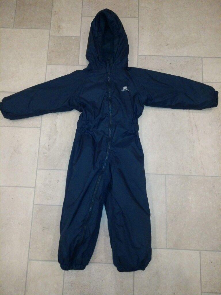 c838edeaa Boys Trespass Snowsuit 2-3 years £6 Hardly Worn