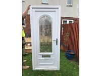 UPVC external front door
