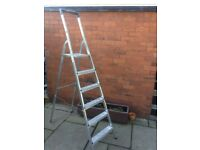 Hailo 6 tread stepladder 150kg rated