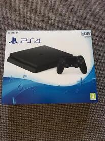 BRAND New AND Sealed PS4 SLIM 500GB NEW MODEL
