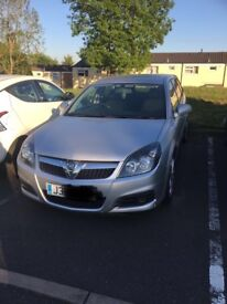 Vauxhall Vectra 1.8 VVT silver with private reg