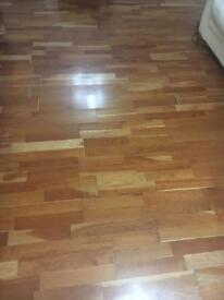 Real wood floor