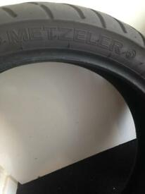 Metzeler tyres pair used