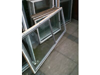 Secondary double glazing x4 identical sections