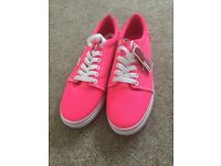Vans Pink Shoes Brand New With Tags