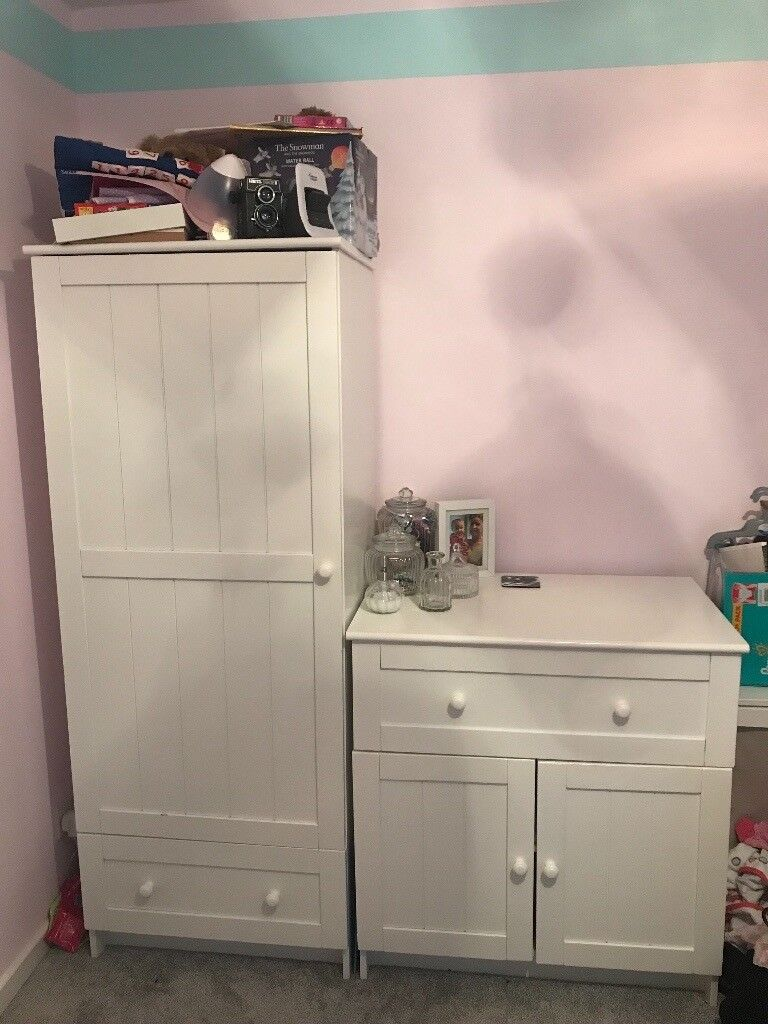 Mothercare White Wardrobe And Dresser Perfect For A Nursery Of Child S Room In Coventry West Midlands Gumtree