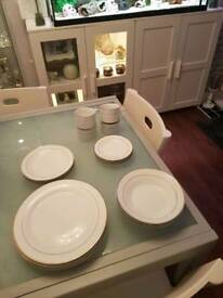 BHS 4 Place Dinner Party Set