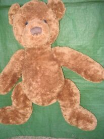 Large New Hamleys Brown Teddy Bear