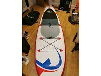 Paddle board set nemaxx nearly new only used twice