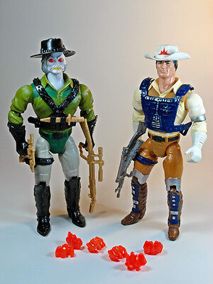 Bravestarr and Tex Hex toys