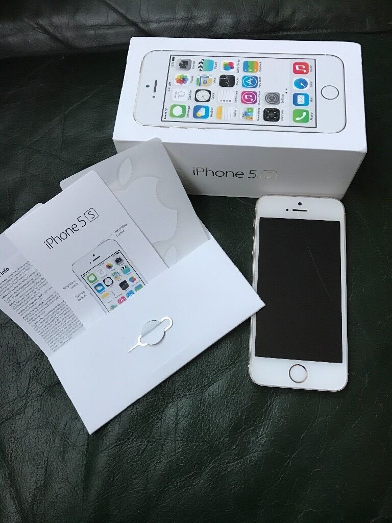 Gold Apple iPhone 5s - 32GB - UNLOCKED - £135