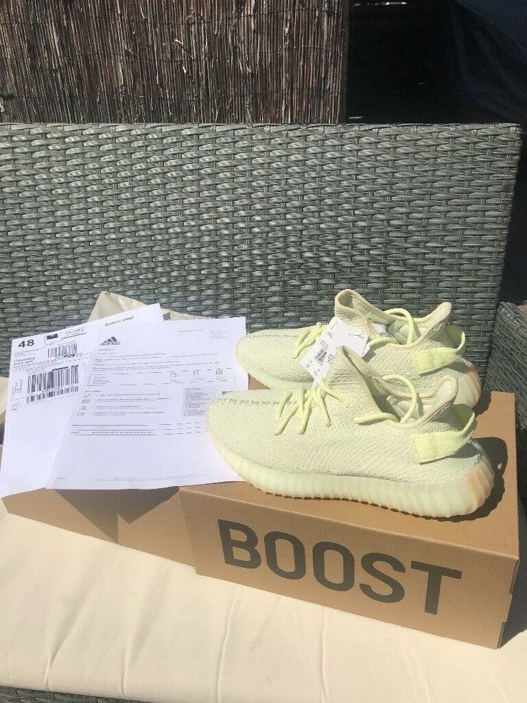 e0bf387065919 £180 NEED GONE! 100% Genuine Adidas Yeezy Boost 350 v2 Butter Size 8