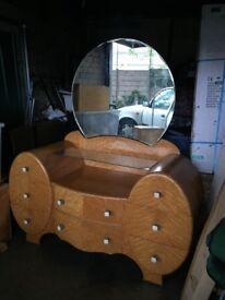 Rare Art Deco dressing table