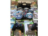 Xbox 360 E console with Special Edition Kinect plus 15 boxed games 7 unboxed