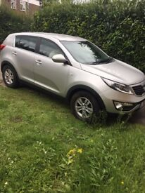 Kia Sportage with full MOT and Road tax, Just bought 2 months,