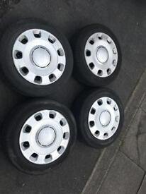 Fiat 500 wheels tyres & trims