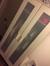 Ikea wardrobe & chest of drawers