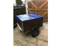 trailer 4fr x 3ft with cover