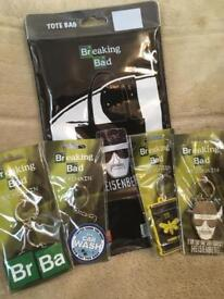 Breaking Bad Key Chains and Tote Bag