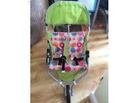 Childrens toy pushchair