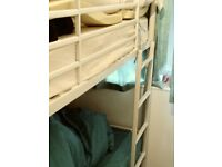 White argos bunk beds for sale collection in yate £45