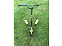 Black and yellow Flicker Scooter