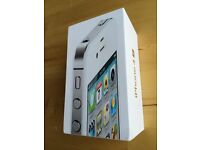 iPhone 4s white 32 gb, box only