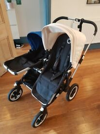 Bugaboo Donkey Duo Single or Double Pushchair with Buggy Board & Accessories