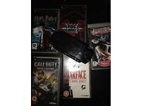 PSP and 5 games good working condition for £40 Mile End station