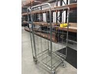 16 metal storage cages