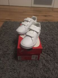Boys white Nike trainers BNIB