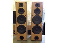 Eltax EXTREME 400 floorstanding speakers - 200 watts RMS per speaker