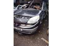 2005 RENAULT SCENIC 1.6 16V PETROL BREAKING FOR PARTS