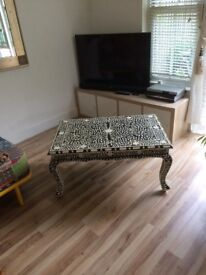 Coffee table much loved alas no room now for it, £80 or nearest offer