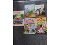 Various young reading books x 5